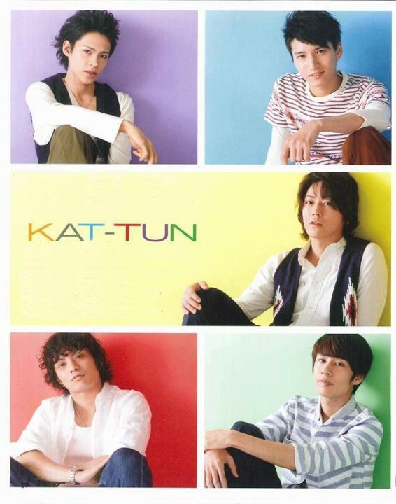 KAT-TUN dans Duet de Juin