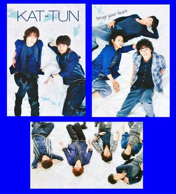 KAT-TUN dans le dernier Qlap!