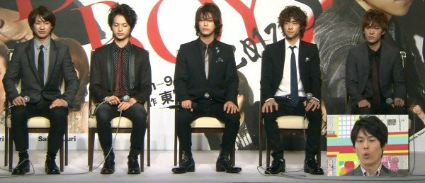 "DreamBoys 2012 + Promo KAT-TUN ""To the limit"""