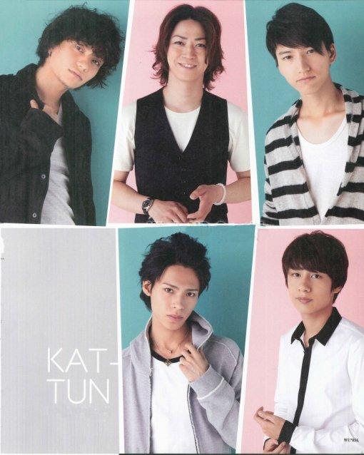 KAT-TUN dans Wink up (septembre)