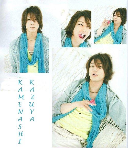 Kamenashi Kazuya dans TV Fan (septembre)