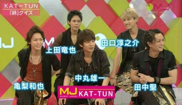 KAT-TUN dans Music Japan