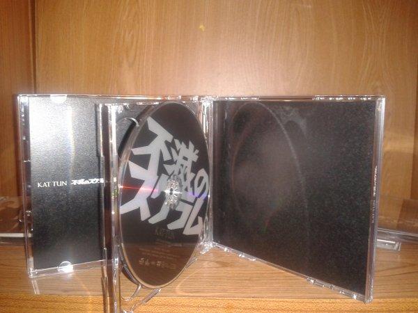 """Mes cd de """"Fumetsu no scrum"""" des KAT-TUN"""