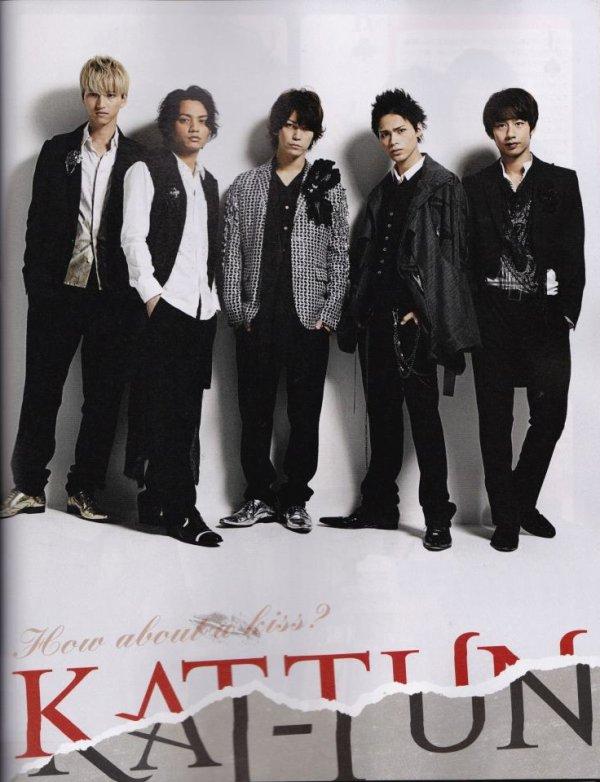 KAT-TUN dans Wink up de Novembre