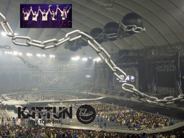 KAT-TUN CHAIN Live tour 2012 DVD