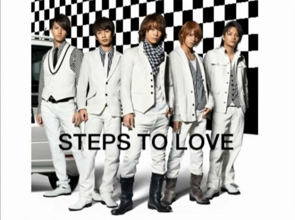"Preview de ""Steps to love"" des KAT-TUN"