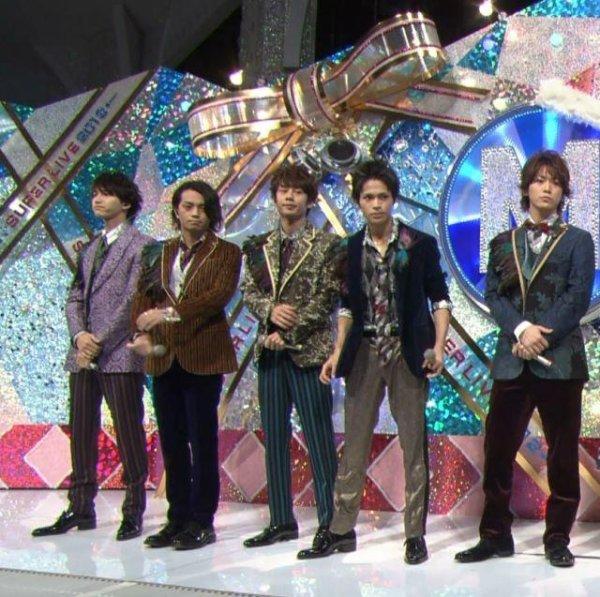 KAT-TUN dans Music Station super live