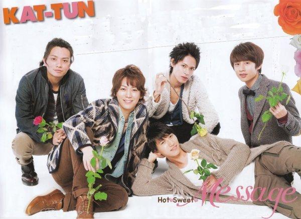 KAT-TUN dans TV Guide plus