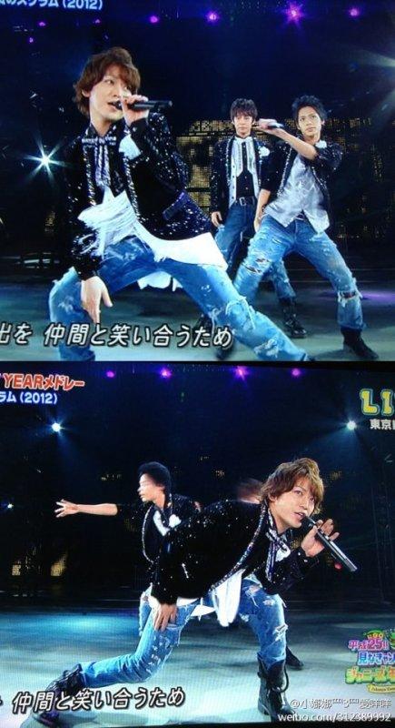 Johnnys' Countdown 2012-2013 quelques images et les vidéos