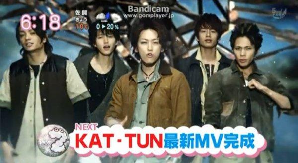 "KAT-TUN preview de ""Expose"" et ""Connect and go"""