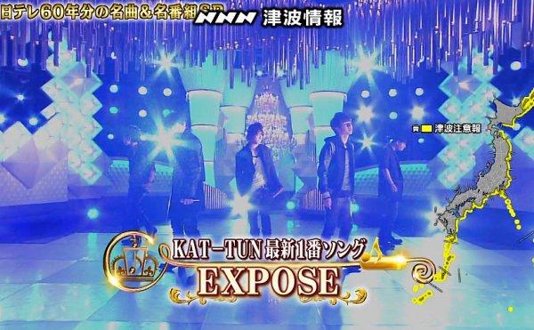 KAT-TUN dans Ichiban song