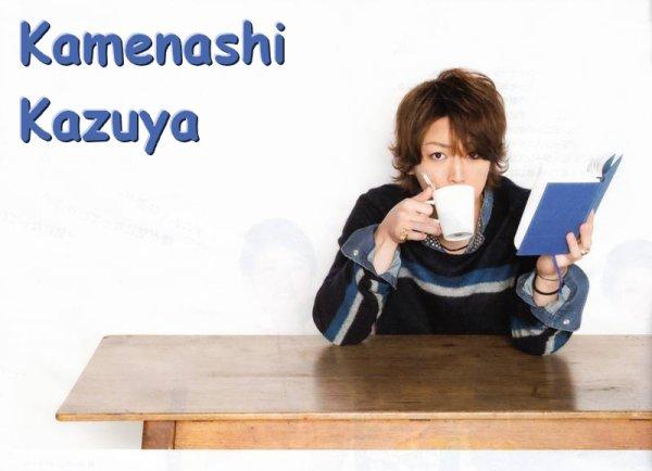 Kamenashi Kazuya dans More
