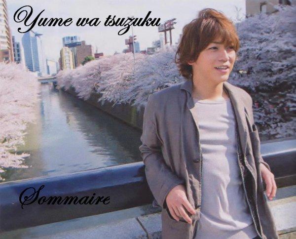 Fanfic: Yume wa tsuzuku