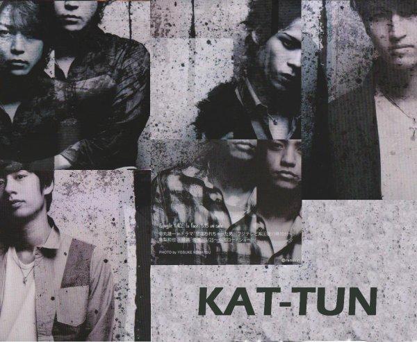 KAT-TUN dans Wink up