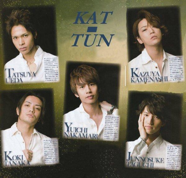 KAT-TUN dans TV Pia