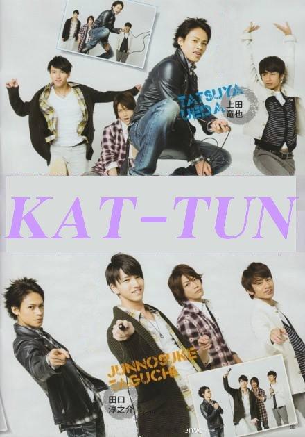 Kamenashi Kazuya et KAT-TUN dans TV Life