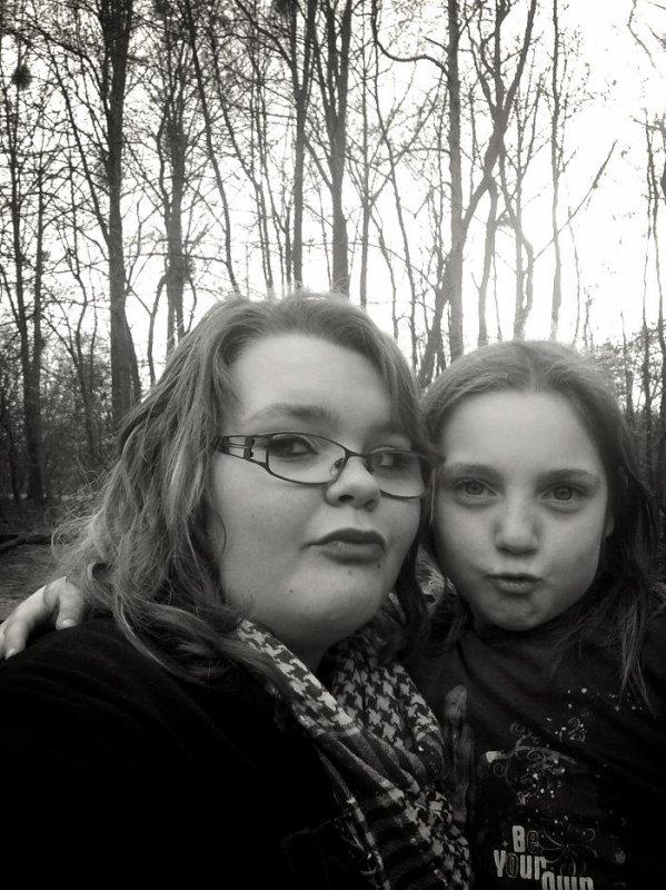 moi et ma tite soeur Lindsay