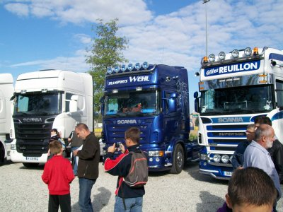 scania 730 /scania transport whell / scaniagille reuillon