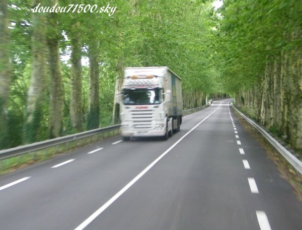 scania ( on the road ....)