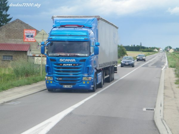 scania ( on the road....)