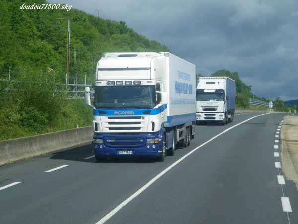 scania ( on the road ...)