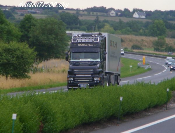 scania t longline ( on the road ...)