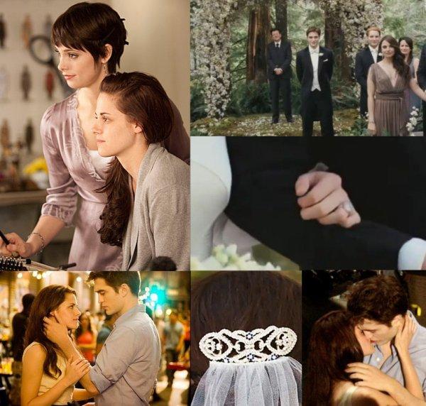 Quelque photos du mariage de Bella et Edward ♥