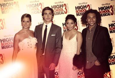 Vanessa et Sa troupe High School Musical !!!!