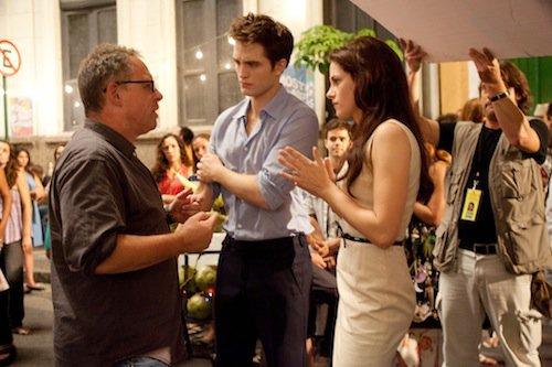 Infos Breaking Dawn → Une Photo des coulisses du tournage + Interview de Kristen Stewart