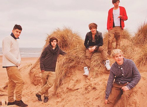 Five boys, one band