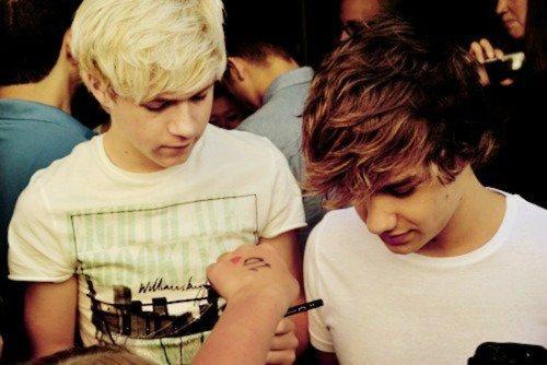 Niall Horan, Liam Payne.