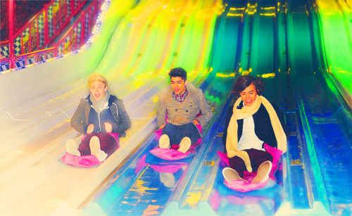 Niall Horan, Zayn Malik, Harry Styles.