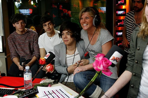 One Direction NRJ