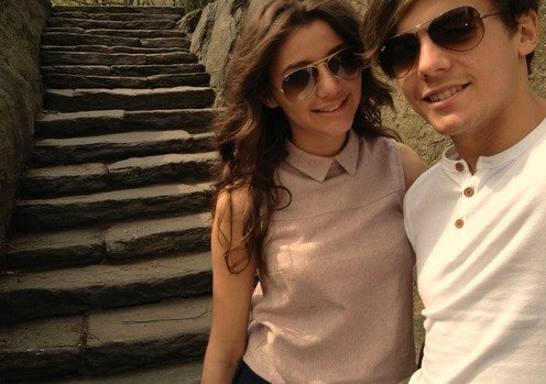 Eleanor Calder, Louis Tomlinson.