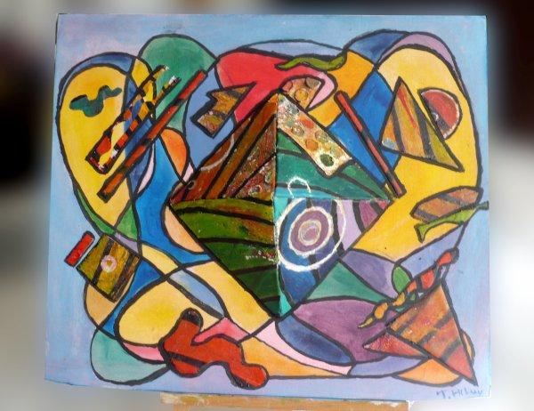 Histoire d'un tableau abstrait