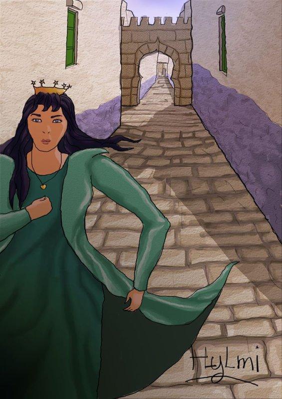 La fuite de la reine