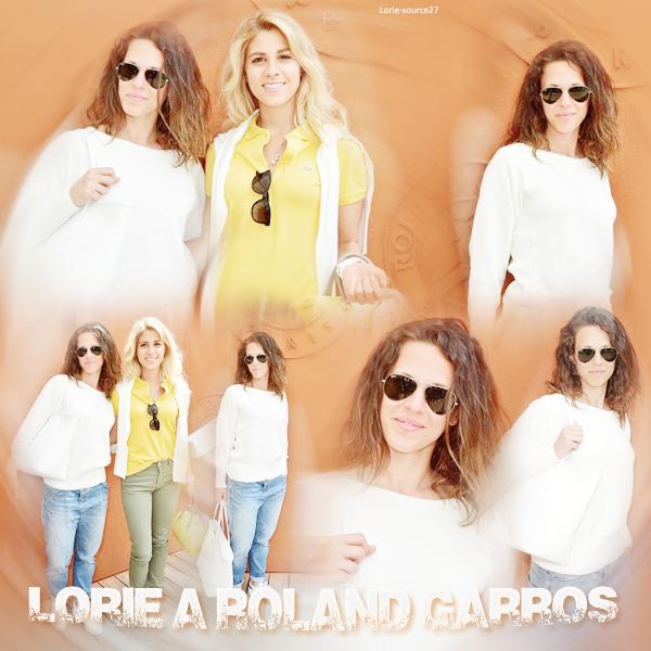 Lorie une fidéle de Roland Garros ...