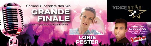 """Lorie dans le jury de """" Voice Star"""""""