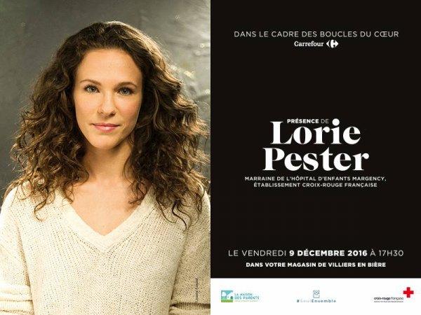 Rencontrez Lorie le 9 décembre !
