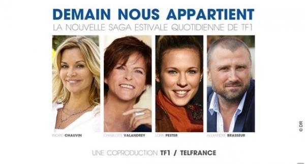 Lorie dans la nouvelle série de l'été sur TF1