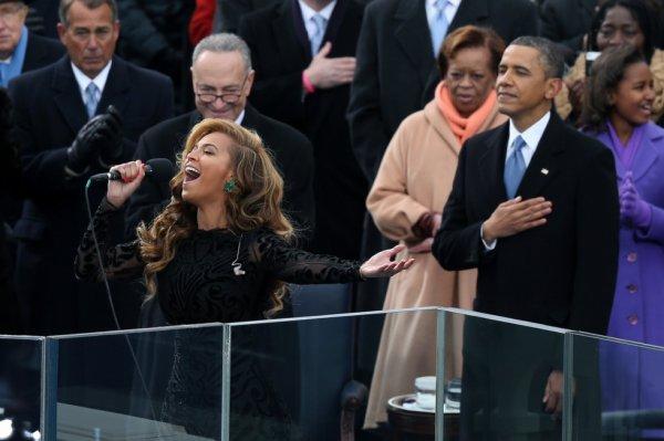 Beyonce et Obama