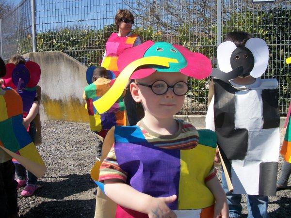 mon fils anthony au carnaval de l ecole