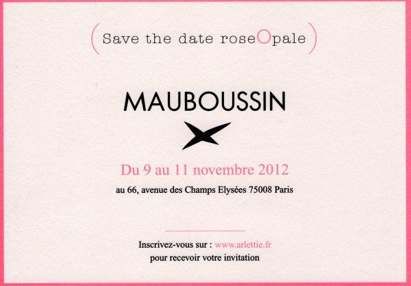 Vente privée Mauboussin
