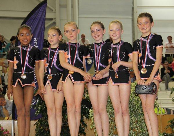 Championnat de France DC 2014   -   3/4