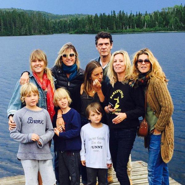 Marc Lavoine Et Sa Femme Sarah Partagent Les Photos De Leurs Vacances En Famille Marc Lavoine