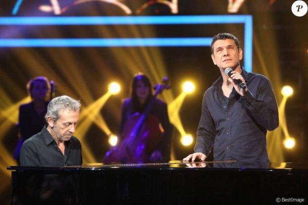 Marc Lavoine : Le musée Grévin sacre le chanteur, le comédien et l'écrivain...