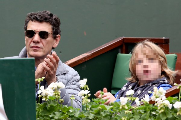Roland-Garros 2016 : Marc Lavoine complice avec son fils Roman