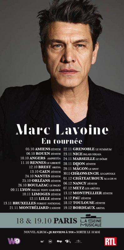 MARC LAVOINE NOUVELLE ALBUM PRINTEMPS 2018