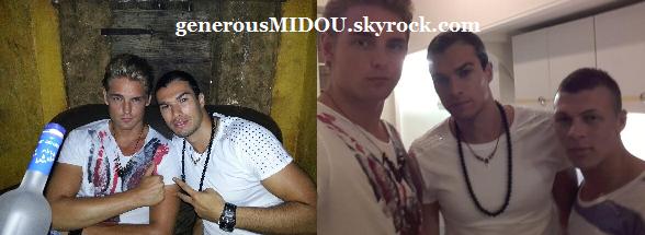 Nouvelles photos de Midou avec Sergueï !