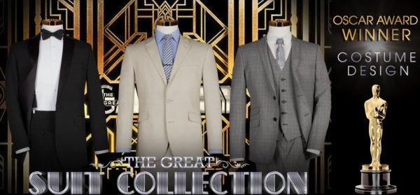 The Great Gatsby Suits Collection